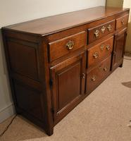 Oak Dresser Base 18th Century (7 of 7)