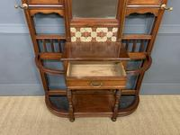 Large Victorian Walnut Hall Stand by James Shoolbred and Co. (16 of 17)