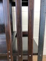 Antique Mahogany Swivel Bookcase (6 of 8)
