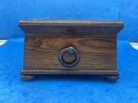 William IV Rosewood Box With Mother Of Pearl Inlay (10 of 14)