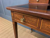 Edwards & Roberts Inlaid Mahogany Writing Desk (8 of 20)