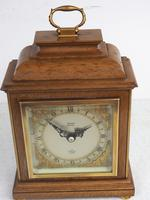 Perfect Vintage Mantel Clock Caddy Top Bracket Clock by Elliott of London Retailed by Thornton Kettering (7 of 9)