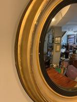 Small Antique Convex Mirror (5 of 5)