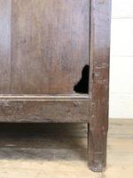 Antique 18th Century Oak Coffer with Three Panel Front (17 of 19)