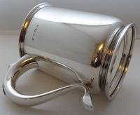 1939 1 Pint Tankard Hallmarked Solid Silver Christening Mug William Neale (7 of 8)