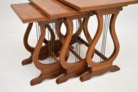 Antique Regency Style Figured Walnut Nest of Tables (11 of 12)