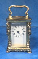 Victorian Miniature Brass Carriage Clock (4 of 11)