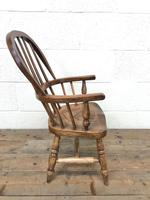 Antique Child's Windsor Chair (6 of 8)