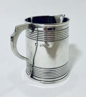 Antique Victorian Solid Silver Christening Cup (6 of 12)