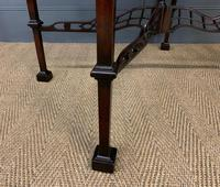 Chippendale Style Mahogany Occasional Table (7 of 10)
