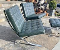 Pair of Barcelona Chairs & Ottoman (6 of 30)