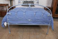 Lovely Rare All Iron Double Bed (4 of 8)