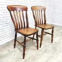 Pair of Windsor Latheback Side Chairs (3 of 5)