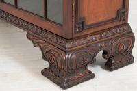 Mahogany Chippendale style 2 door display cabinet (9 of 11)