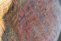 Antique Ushak Carpet 395x328cm (4 of 12)