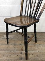 Set of Four 19th Century Ash and Elm Hoop Back Chairs (11 of 13)