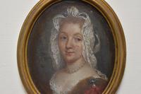 Louise Françoise de Bourbon Portrait Miniature on Copper (2 of 3)