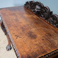 Victorian Carved Console Table (6 of 6)