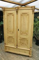 Fabulous & Large Old Pine Double 'Knock Down' Wardrobe - We Deliver! (18 of 18)