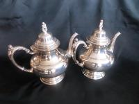 Two 'ONEIDA' Silver Plated Coffee Pots with Cream Jug (6 of 6)