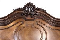 Antique French Stunning Huge Oak Bed Frame & Pot Cupboard (5 of 16)