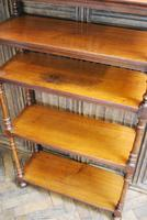 Antique Walnut Whatnot/ Shelves (6 of 6)