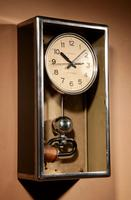Art Deco Lepaute Very Interesting Electrical Wall Clock (3 of 14)