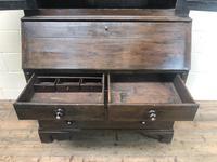 Antique 18th Century Welsh Oak Two Stage Bureau Cupboard (14 of 15)