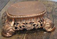Fine Pierced Copper Repousse Stand (2 of 8)