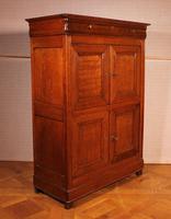 Small 4 Doors Buffet in Blond Oak - 19th Century (2 of 9)