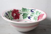 Late 19th Century Scottish Spongeware Pottery Bowl Persian Rose Pattern (14 of 23)