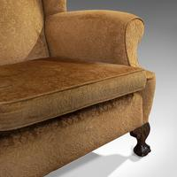 Antique Queen Anne Style Sofa, English, Two Seat Settee, Victorian, Circa 1880 (8 of 10)