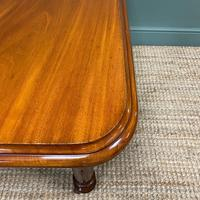 Small Quality Mahogany Antique Victorian Extending Dining Table (5 of 9)