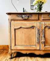 French Antique Normandy Sideboard / Buffet / Cupboard (5 of 5)