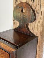 George III Oak Hanging Candle Box (7 of 8)