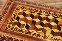 Rosewood Tunbridge Ware Table Box 1880 (9 of 9)