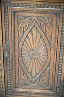 Antique Carved Oak Corner Cabinet (4 of 12)