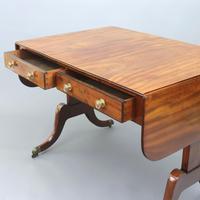 Regency Period Figured Mahogany Sofa Table c1815 (5 of 11)