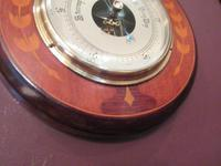 High Quality Antique Sheraton Inlaid Barometer (5 of 6)