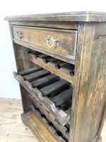 Early 20th Century Antique Oak Wine Rack (8 of 9)
