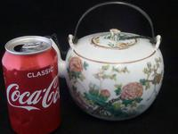 "Superb 19th Century Chinese ""Deer & Crane"" Teapot with Signed Silver Mounts (12 of 12)"
