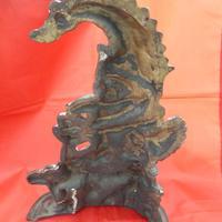 Victorian Punch & Judy Brass Door Stop (3 of 3)