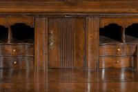 Late 18th Century Oak Bureau Cabinet (5 of 6)