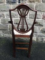 Antique Mahogany Desk Chair (5 of 6)