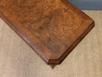 Burr Walnut Bookcase or Side Cabinet (4 of 18)