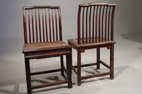 Good & Original Set of 6 Late 19th Century Oriental Chairs (2 of 5)