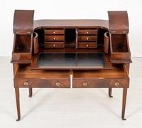 Regency Style Mahogany Carlton House Desk c.1900 (4 of 11)
