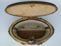 X Large Brass Framed Casket / Box c.1850 (5 of 7)