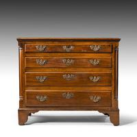 Most Attractive Chippendale Period Mahogany Chest of Drawers (2 of 4)