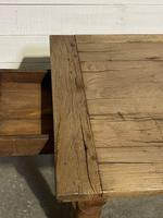 Rustic French Oak 19th Century Farmhouse Kitchen Table (28 of 31)